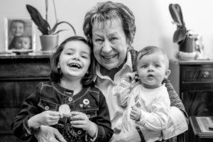 Photo de famille – 4 générations