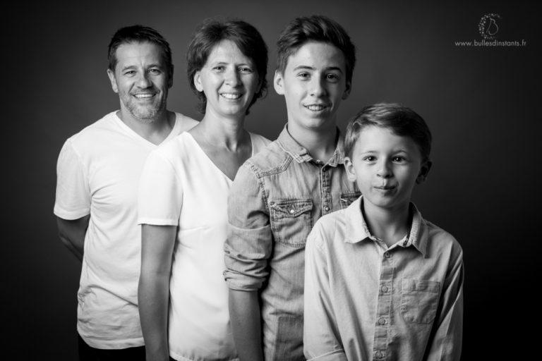Famille – Etienne, Victor et leurs parents