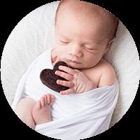 séance photo naissance bébé dans les yvelines