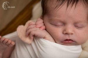 Séance photo nouveau-né dans les Yvelines – Lya