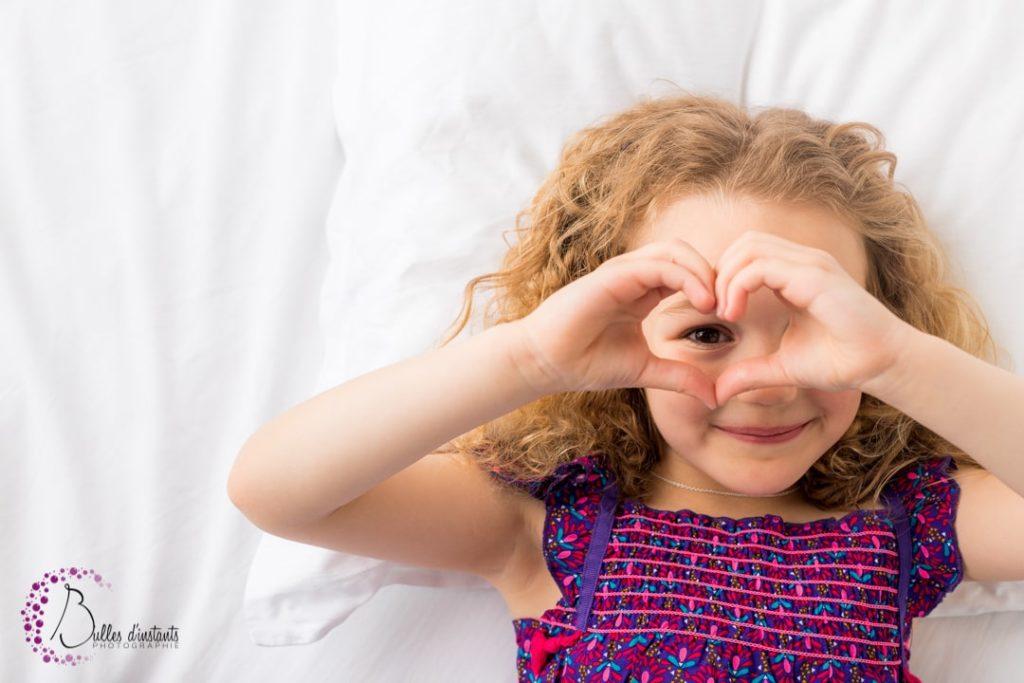 photographe enfant cocooning coloré Yvelines