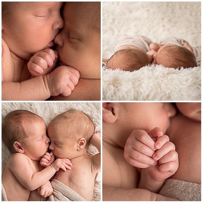 seance photo naissance de jumeaux dans les Yvelines 78