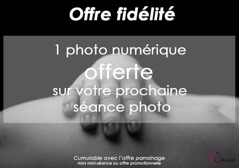 Offre fidélité Bulles d'instants photographe famille Yvelines 78