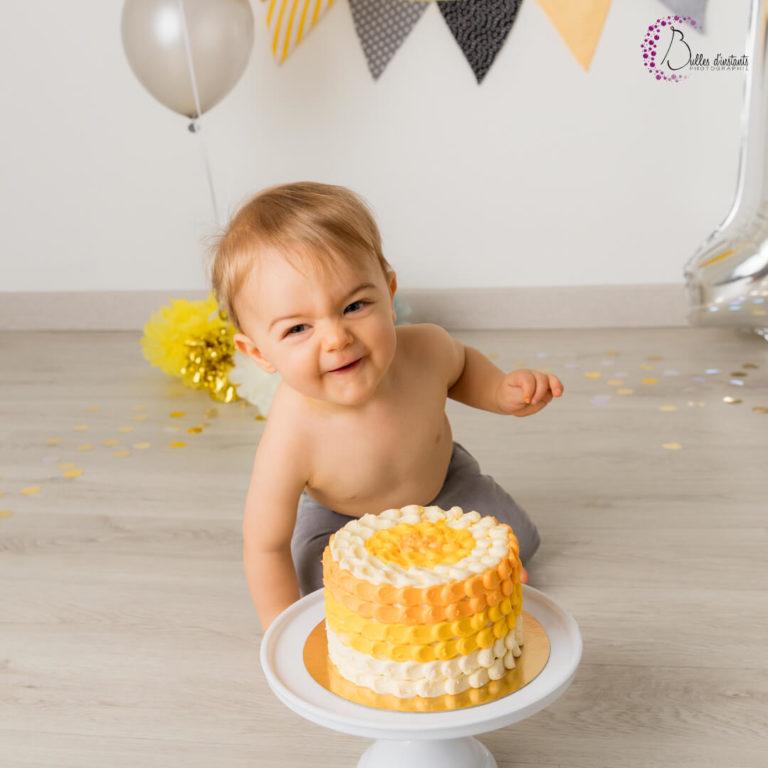 cadeau d'anniversaire bébé smash the cake yvelines 78