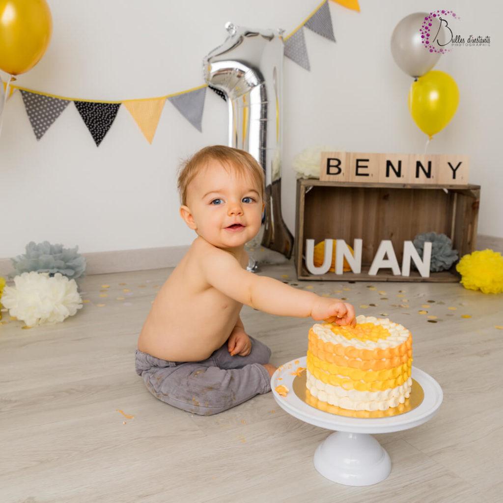 photographe anniversaire bébé un an yvelines 78