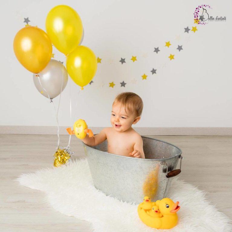 photographe anniversaire bébé Yvelines