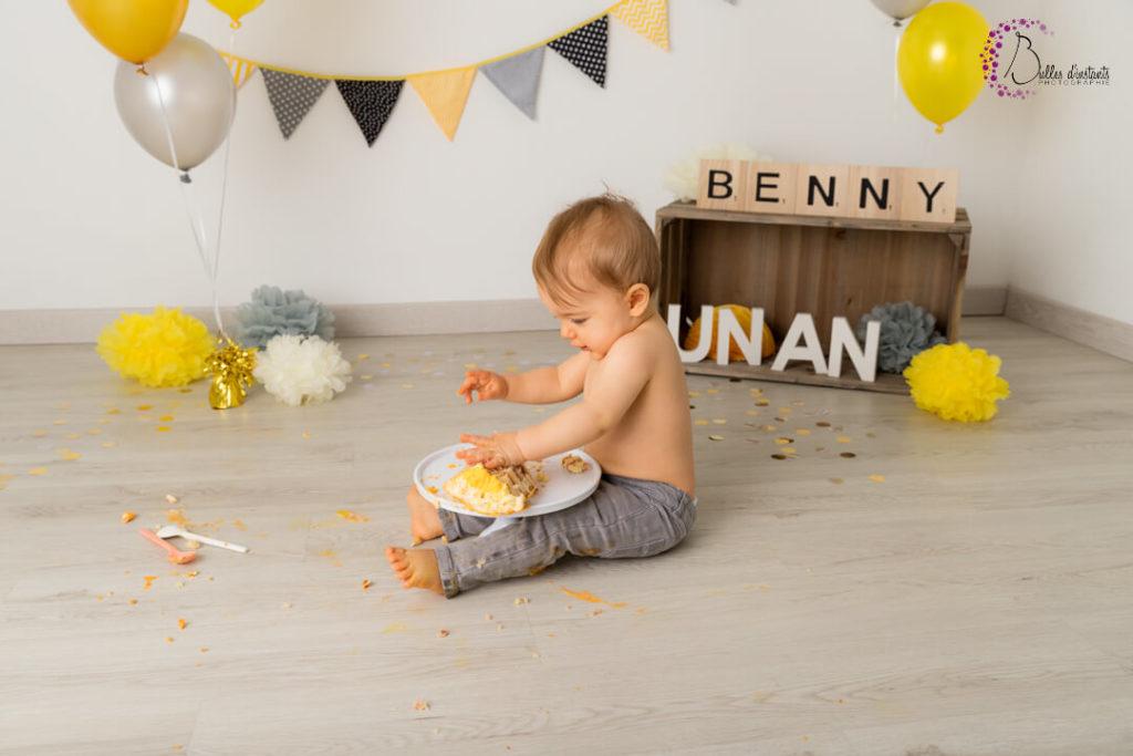 photographe Yvelines 78 bébé un an