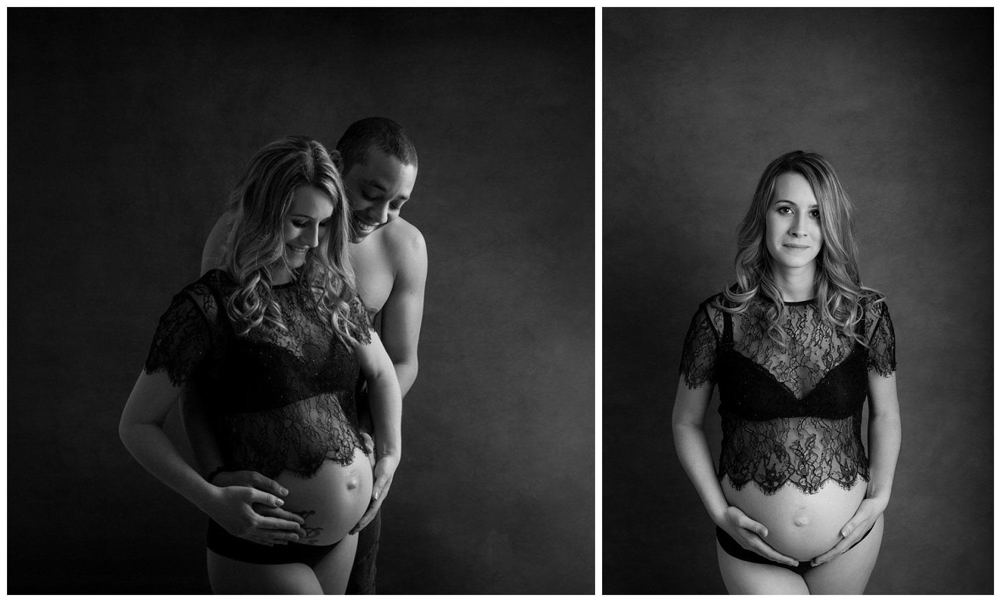 photographe-grossesse-yvelines-noir-et-blanc