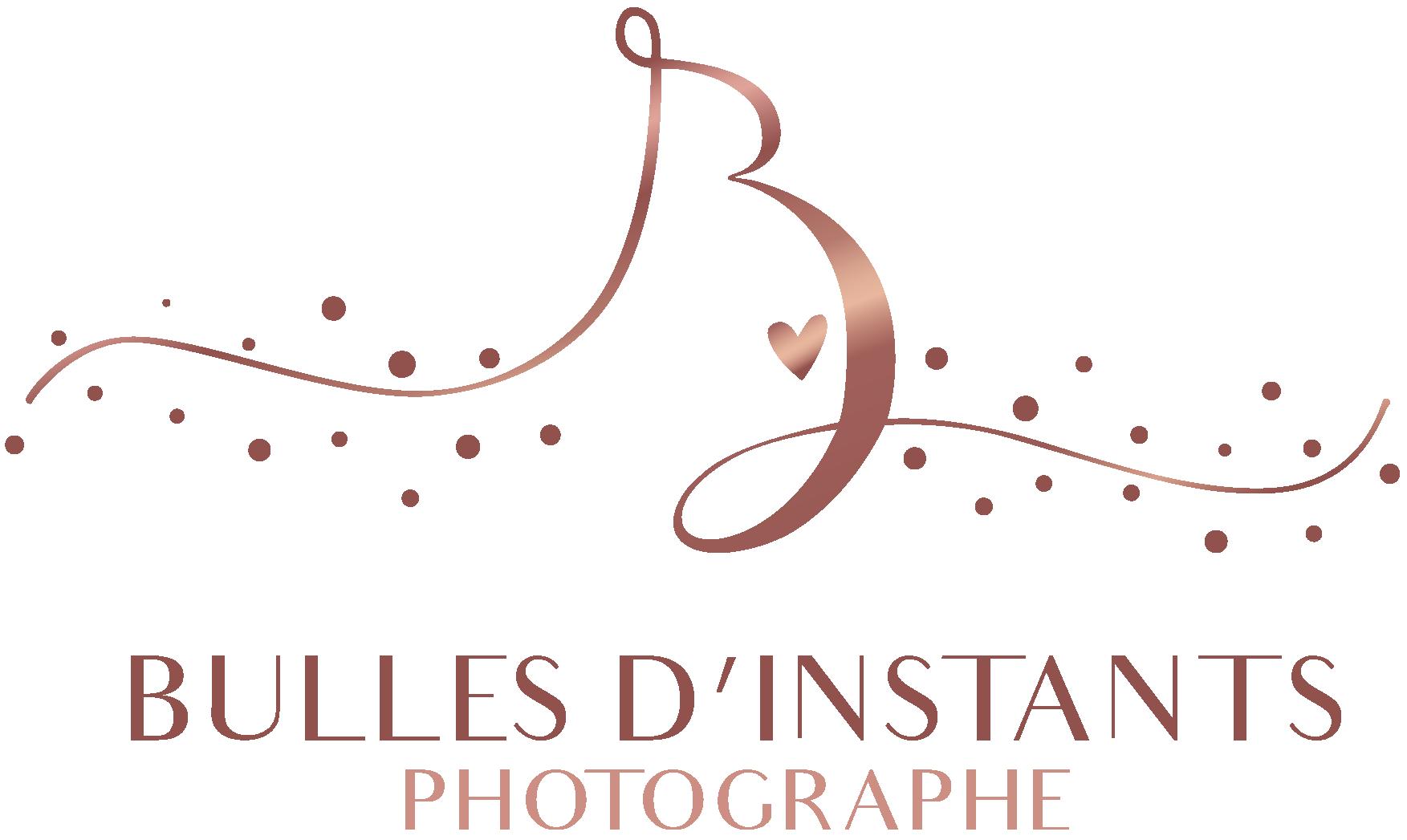 Logo Bulles d'instants Photographe Grossesse, nouveau-né, bébé, enfant, famille 78 Yvelines